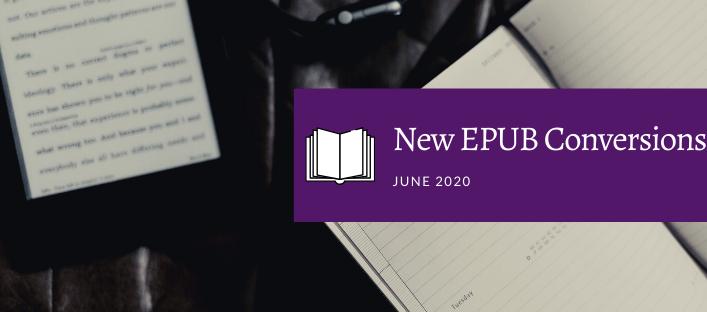 New EPUB Conversions… and typo bounty!