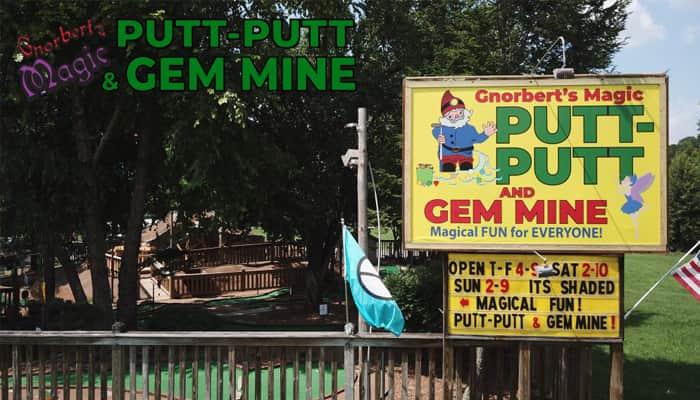 Gnorbert's Magic Putt-Putt and Gem Mine