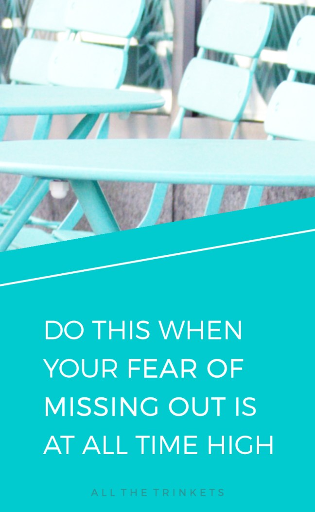 Fear of Missing Out   Perfectionist   FOMO   Self-improvement   Personal Growth   Lifestyle