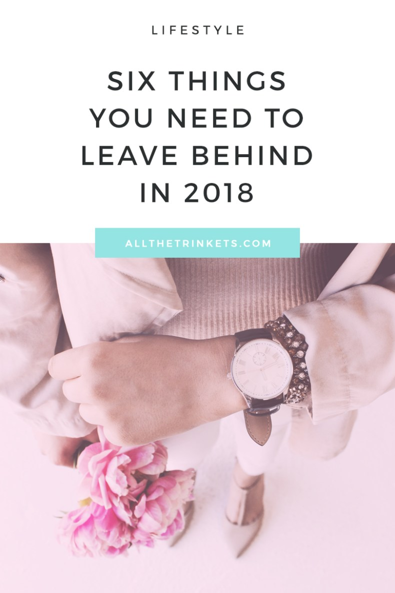 There are some things that you need to leave behind in order to move forward and further grow. Here are six of them. #selfgrowth #personaldevelopment