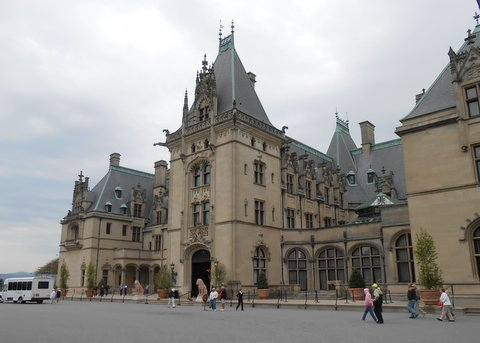 The Biltmore House in Asheville, NC, opened on Christmas Eve 1895.