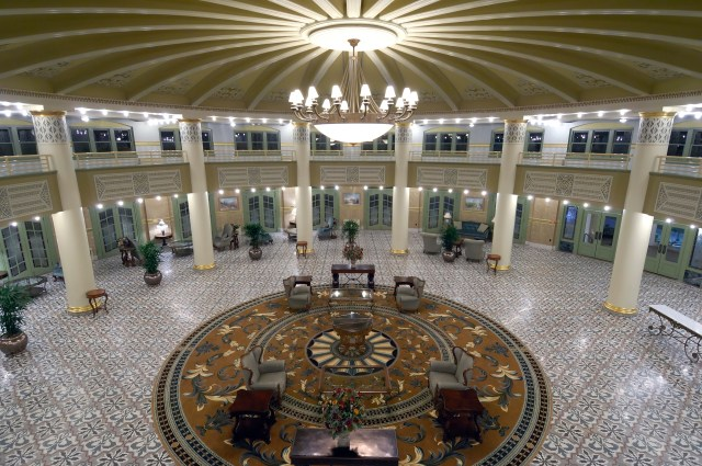 Lobby at West Baden Springs Hotel, French Lick, Indiana