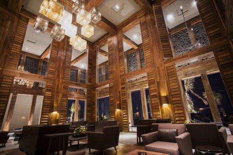The A-Kan Bar at Nizuc Resort & Spa, Cancun.