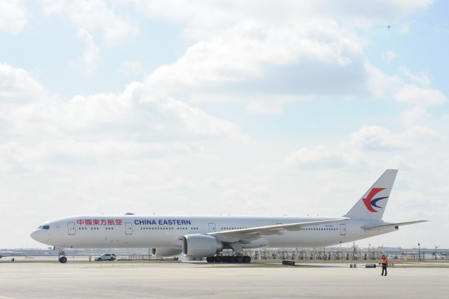 China Eastern Airlines_First Flight Arrival