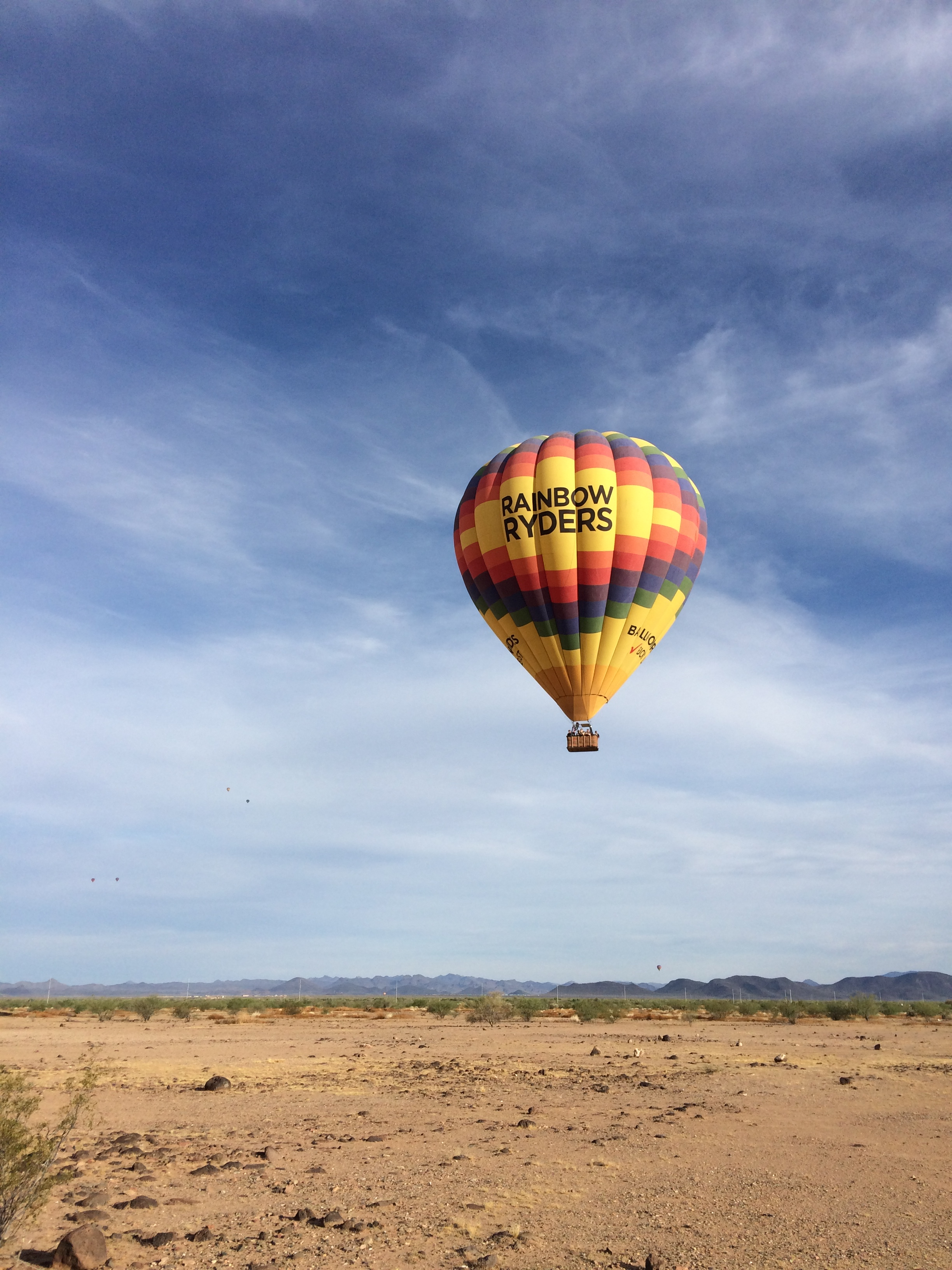 Soaring Thru Arizona Skies in a Hot Air Balloon