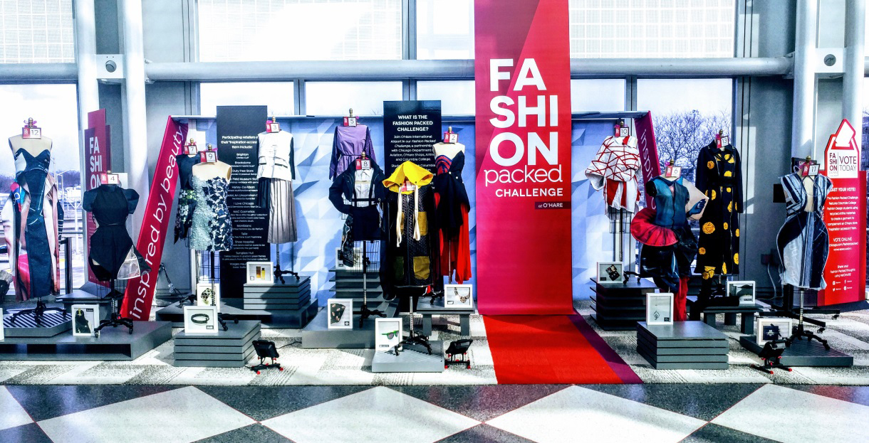Vote for the Best Upcycled Fashion Designs at O'Hare!