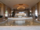 Lobby fountain at The Phoenician, Scottsdale