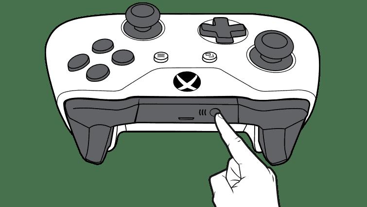 Xbox One Controller Connect Button