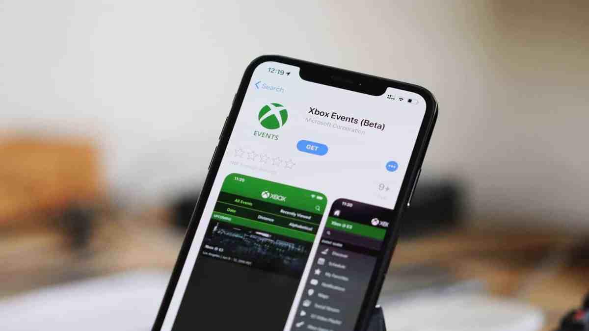 Xbox Events Beta app