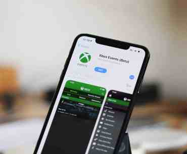 Xbox Events Beta app
