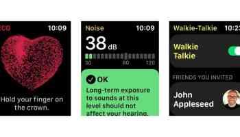 ECG Noise Walkie-Talkie Apple Watch watchOS App Store