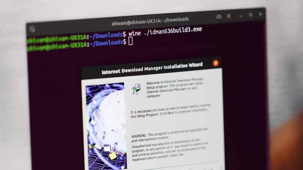 Installing Windows Program Wine Ubuntu Linux