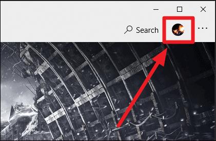 Microsoft Store Profile Icon