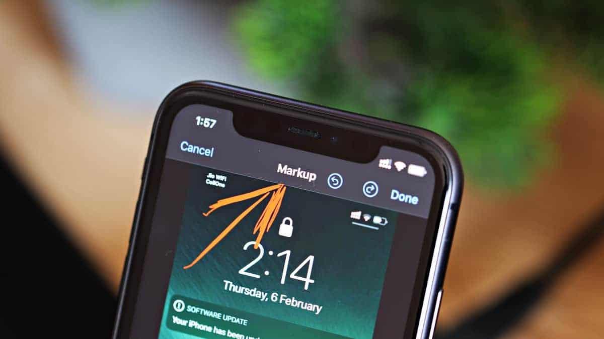 iPhone Markup Tool