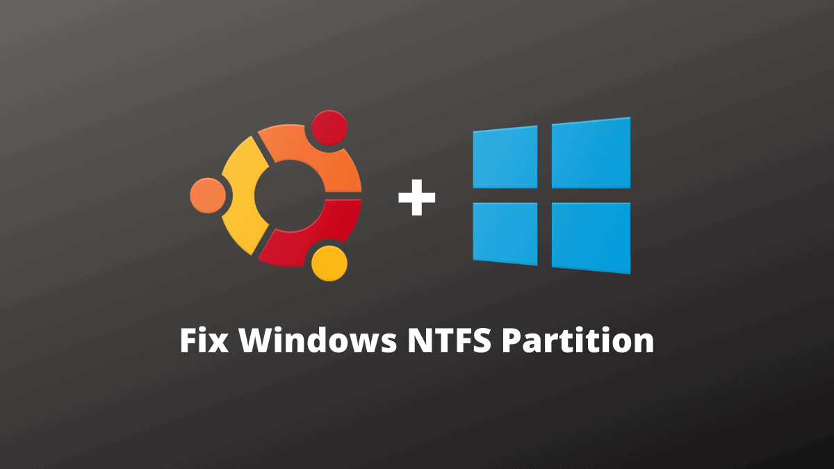 Ubuntu Windows NTFS Partition