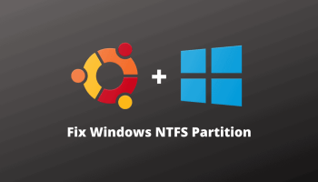 Ubuntu Windows NTFS Partition