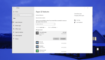 Windows 10 Apps Uninstaller