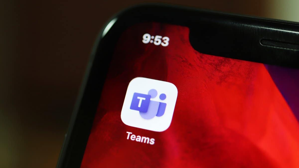Microsoft Teams iPhone App