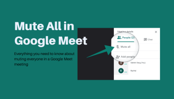 Mute All Google Meet