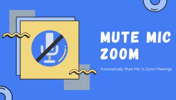 Mute Mic Zoom