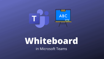 Whiteboard in Microsoft Teams