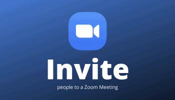 Invite People to Zoom