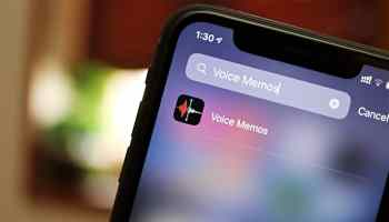 Voice Memos iPhone
