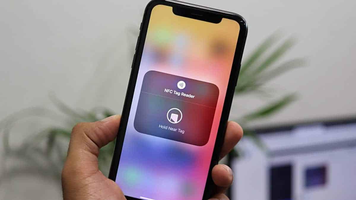 iPhone NFC Tag Reader iOS 14