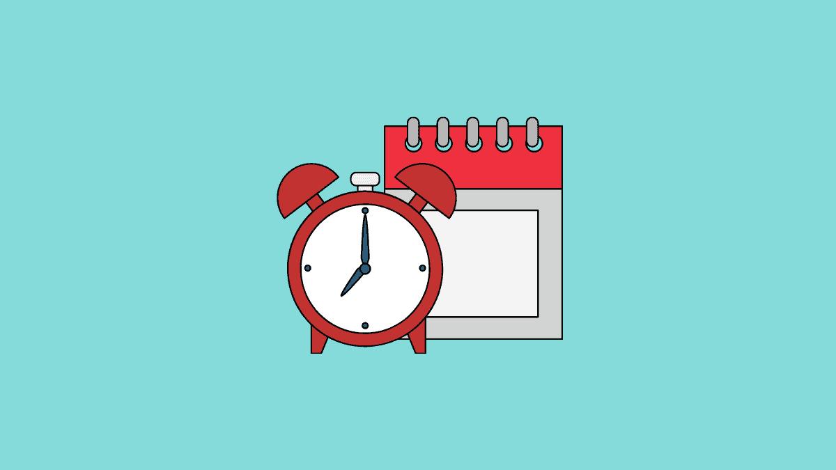Calendar and Alarm