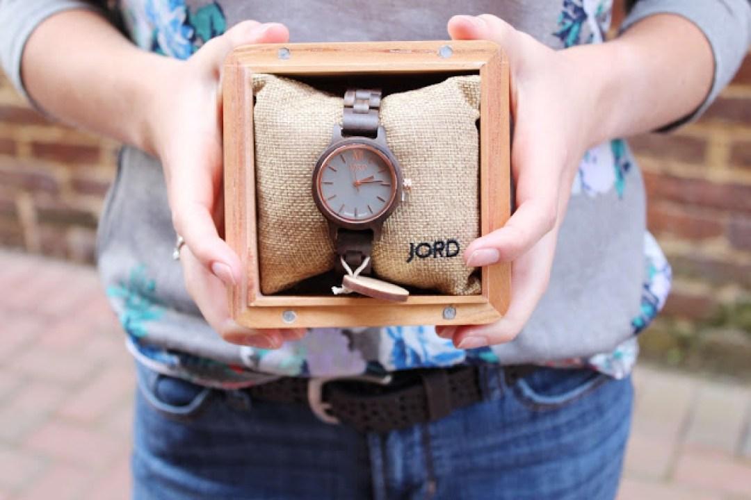 My JORD Frankie35 wooden watch + focusing on eternity