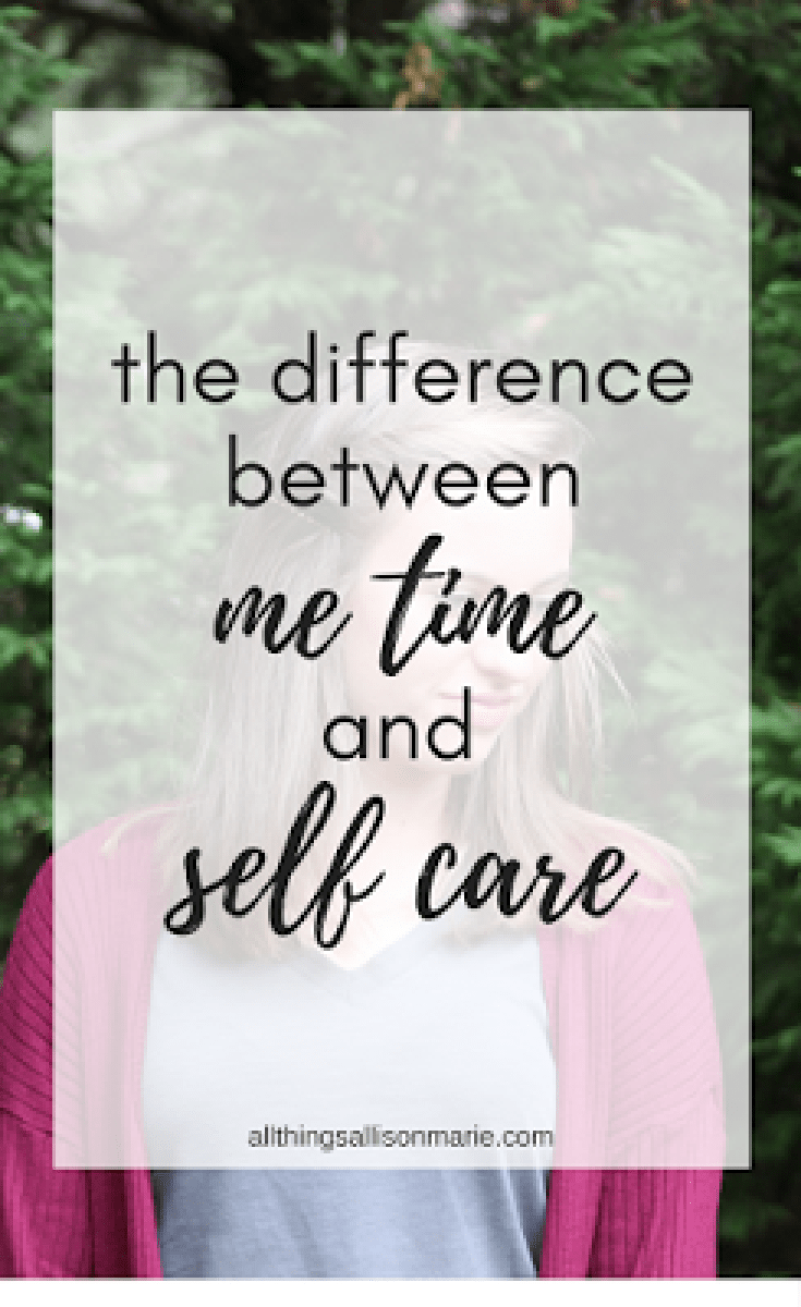 The difference between practicing me time and self care!