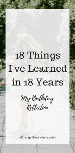 18 Life Lessons for Every Christian Girl!