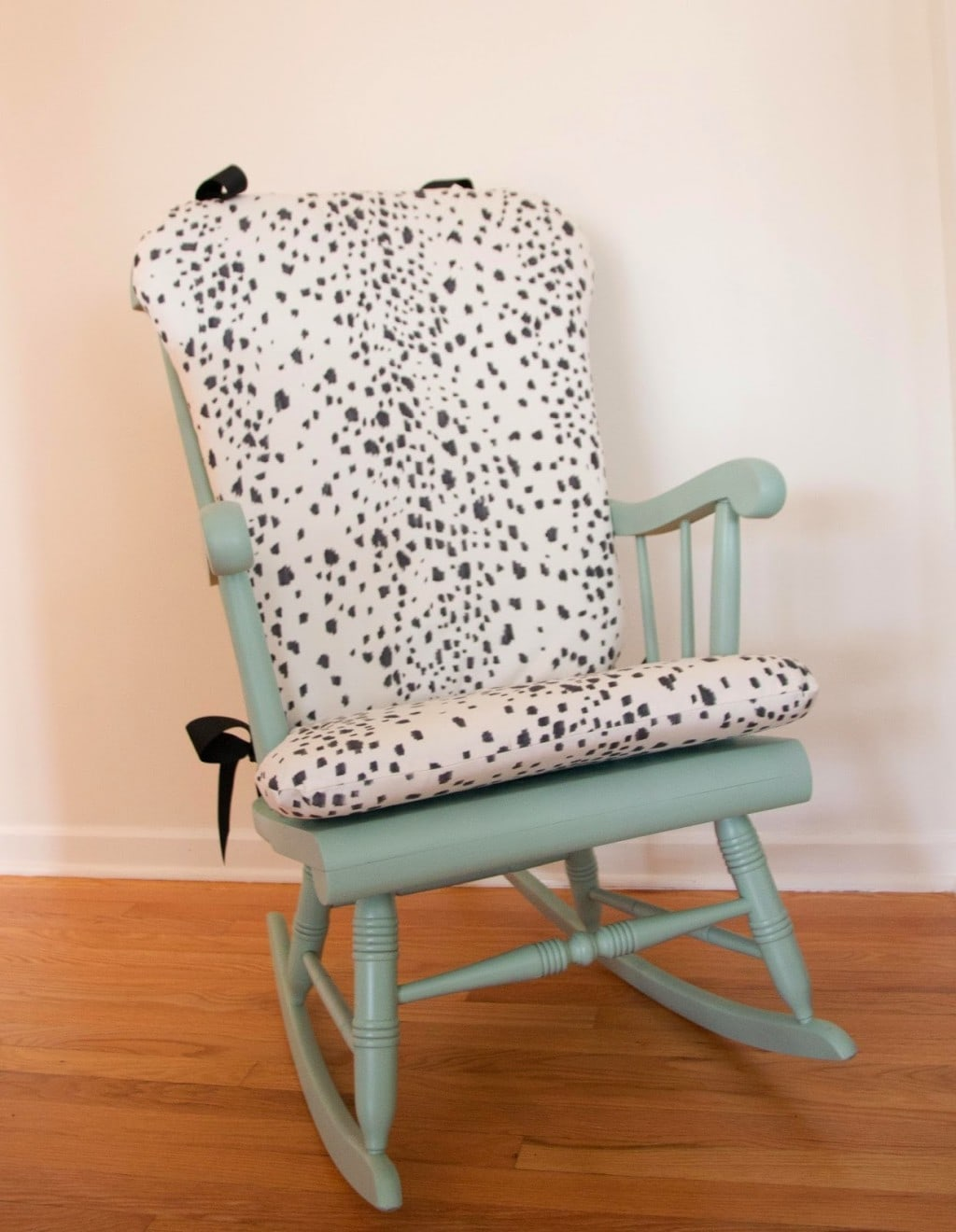 Diy Chair Cushions Diy Les Touches Upholstered Rocking Chair