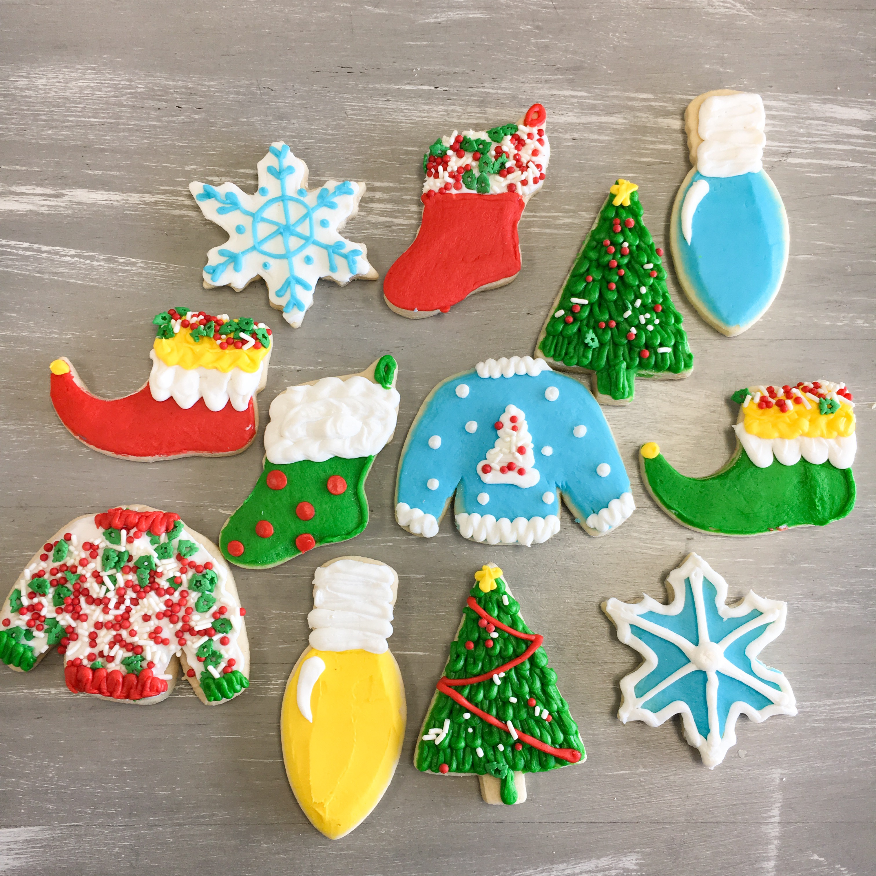 Diy Christmas Cookie Decorating Kit All Things Cake