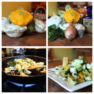 Sauteed Squash with Herbs