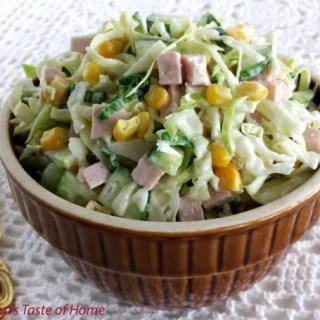 Tossed Cucumber Salad