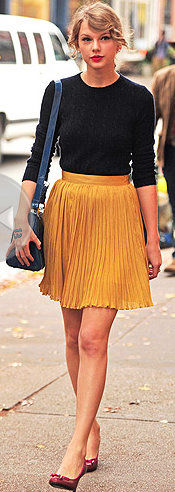 Trend to try :: PLEATS!