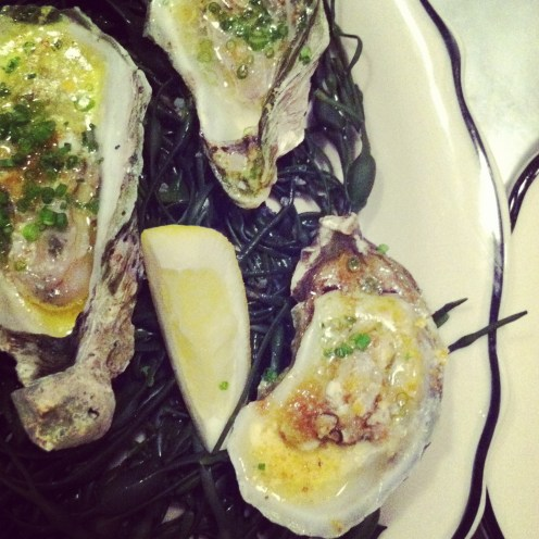 Baked Oysters at The Ordinary, Charleston
