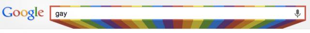 Google busca gay