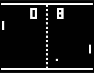 The original Pong