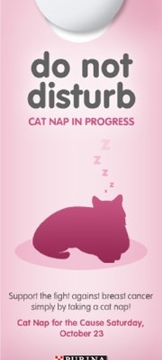Do Not Disturb: Napping for a Cause