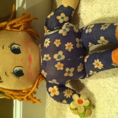 Dolls can be creepy but I still love them