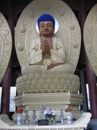 blue velvet buddha