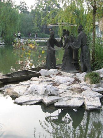 chinese water scene