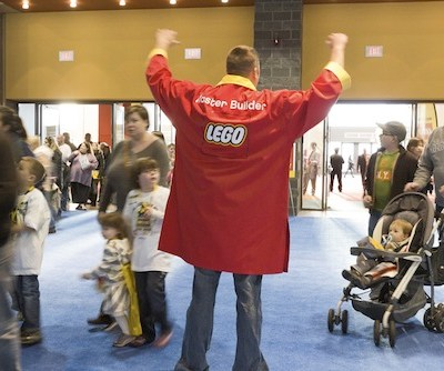 When LEGO Comes to Town