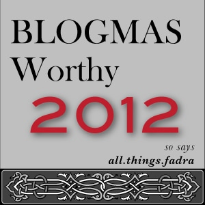 Blogmas 2012: Motherhood is a Strong Emotion