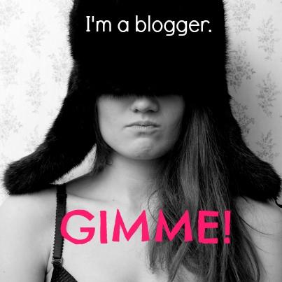 A Blogger's Sense of Entitlement • All Things Fadra