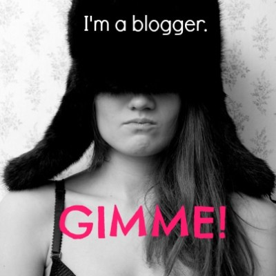 A Blogger's Sense of Entitlement
