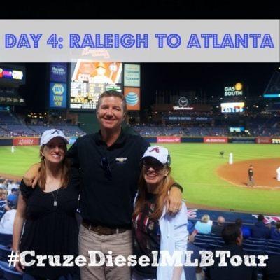 #CruzeDieselMLBTour: The Long Road to Atlanta