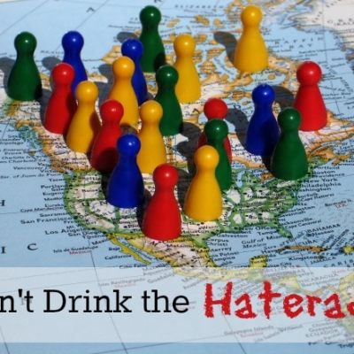 On Not Drinking the Haterade